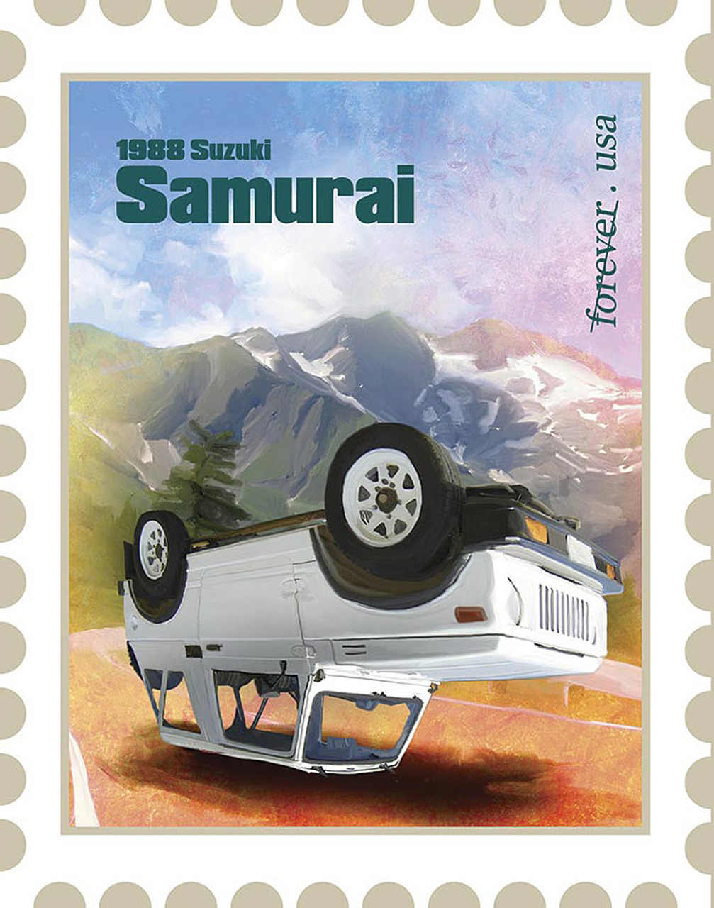 7 Special Edition Car Stamps You'll Probably Never See