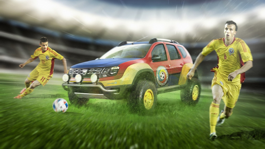 Euro 2016 soccer teams get matching cars just for fun