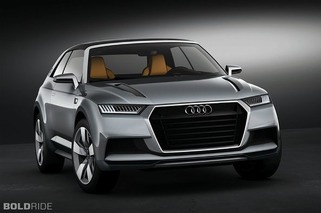Audi Quattro Concept may see life as a crossover-coupe...wait, what?