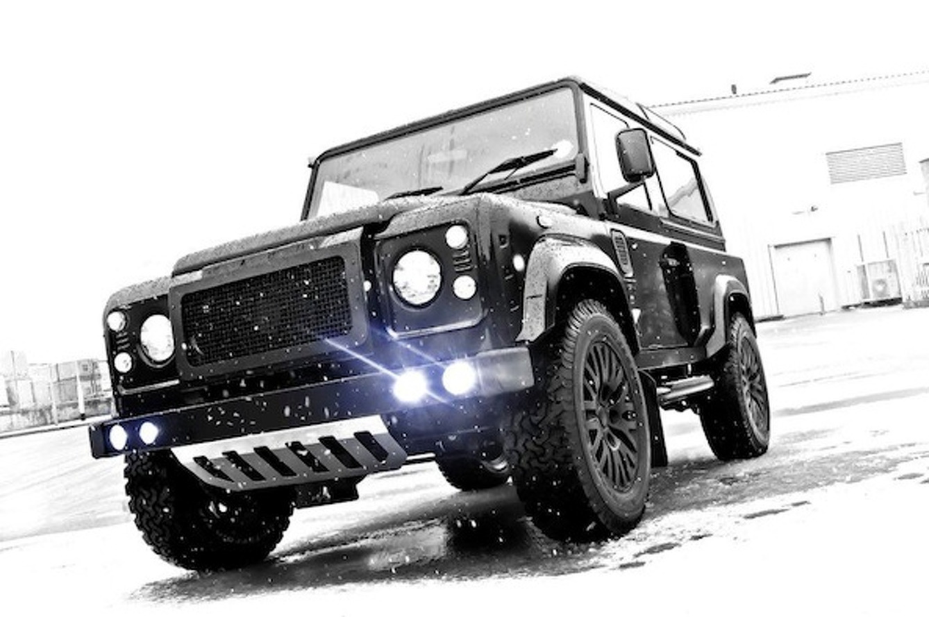 Wheels Wallpaper: A. Kahn Design Land Rover Defender Winter Edition
