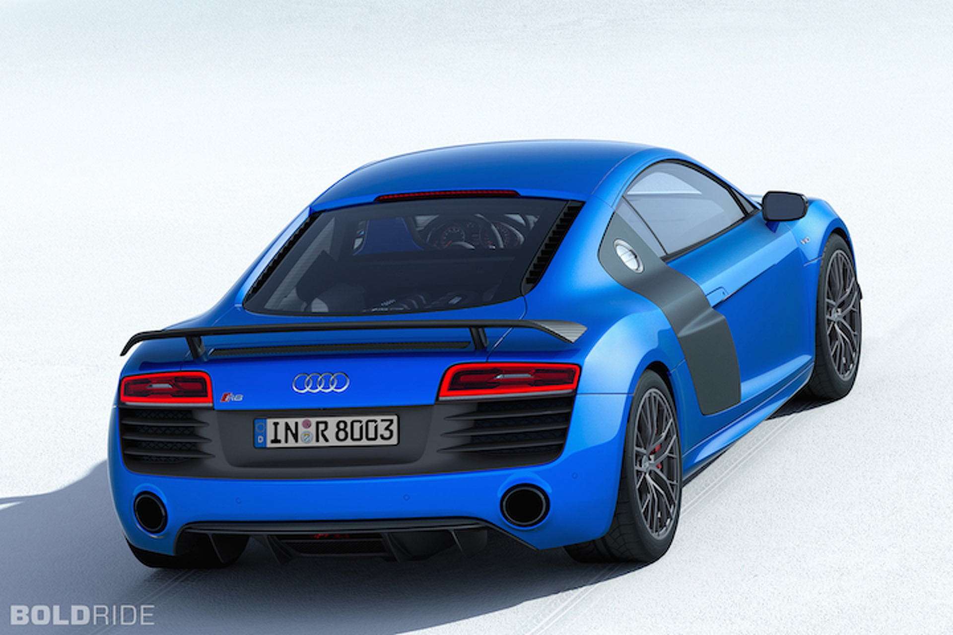 Audi R8 LMX Features World's First Laser Headlights