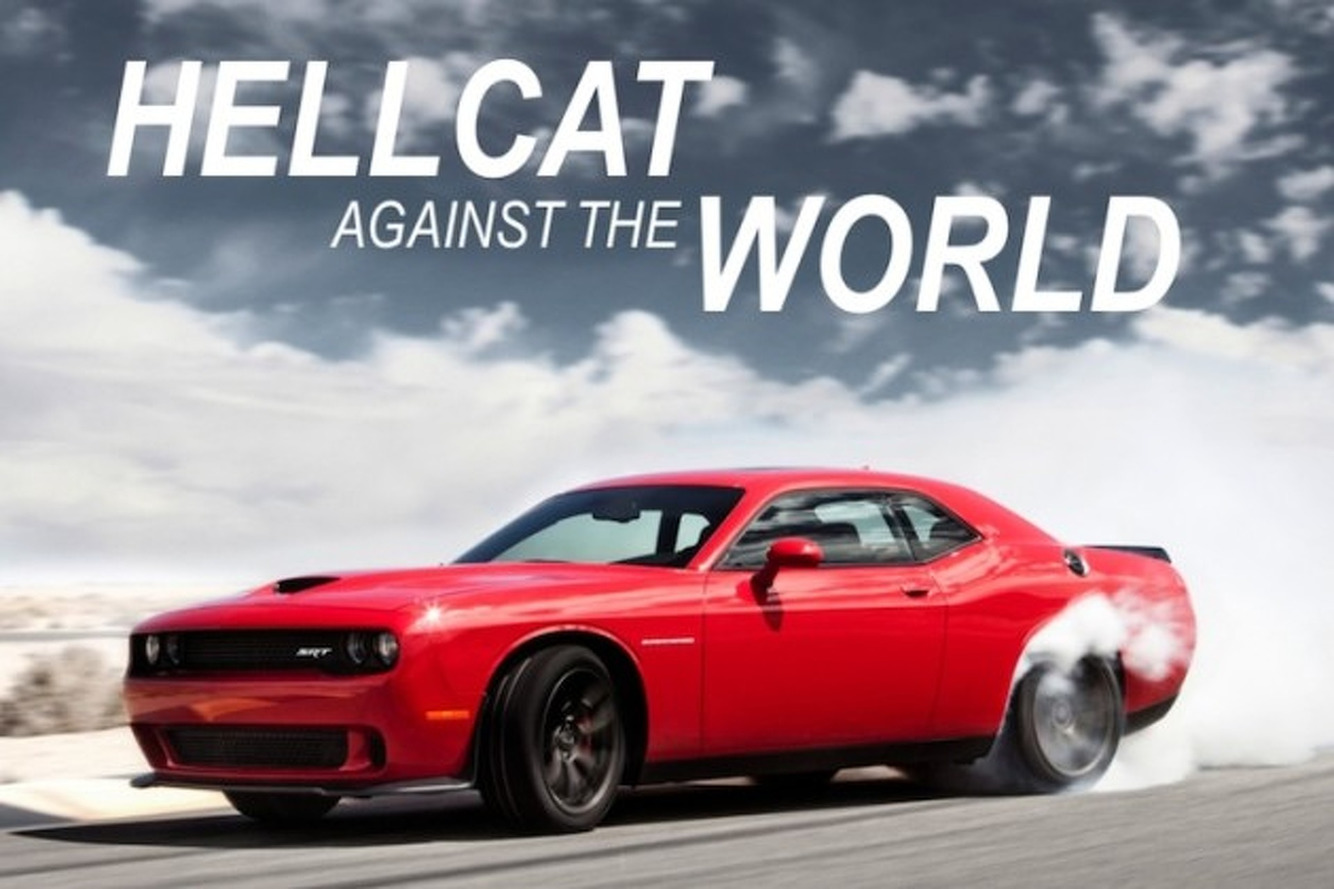 Dodge Challenger Hellcat Against the World: How It Stacks Up