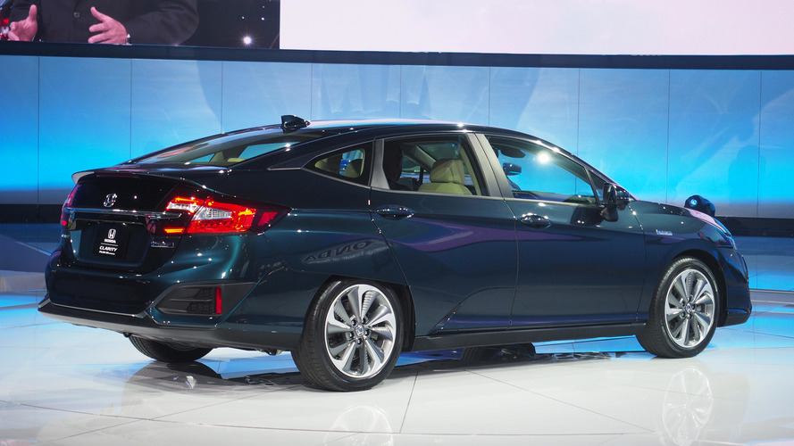 Honda Uses N.Y. To Unveil Clarity Family Of One For Canada