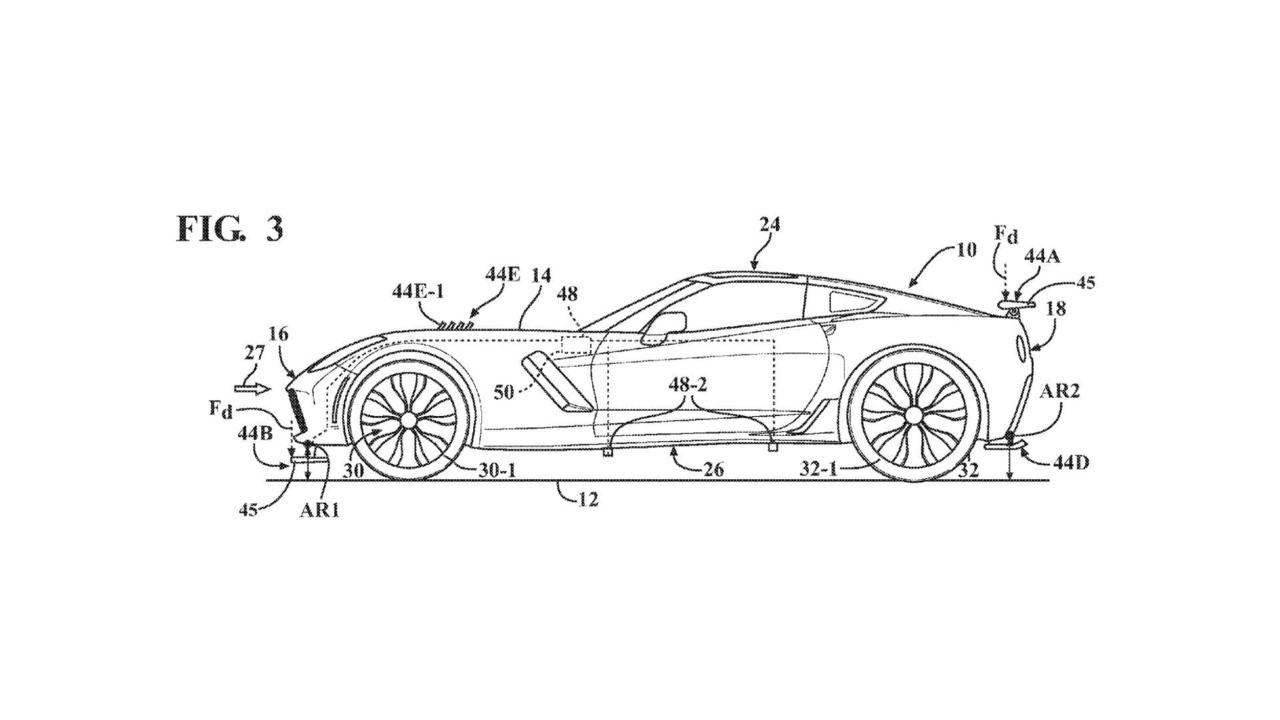 Chevy Corvette Active Aero Patent
