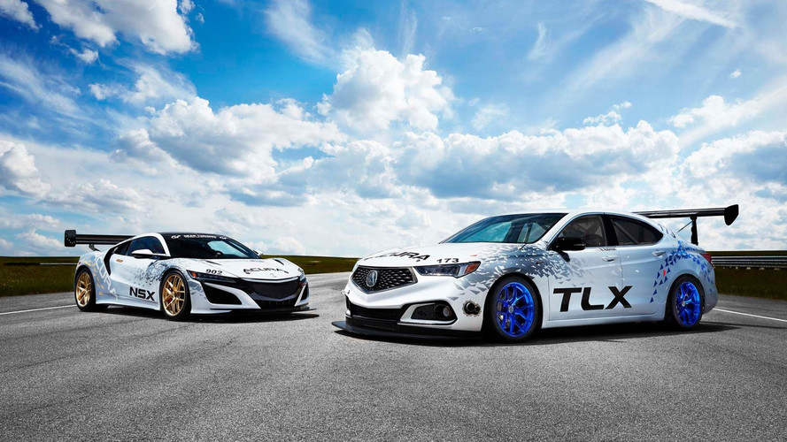 Acura Sends NSX, 500-Horsepower TLX A-Spec To Conquer Pikes Peak