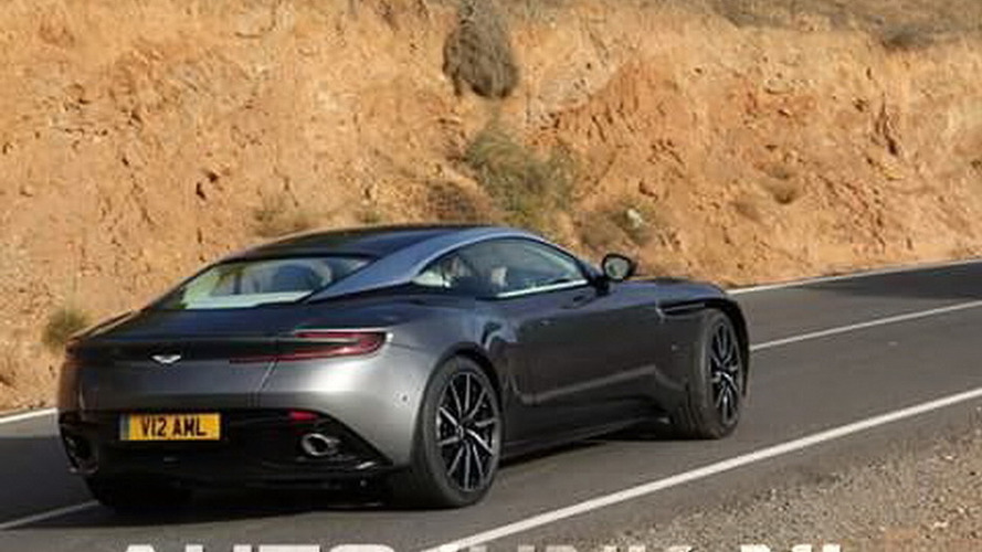 Is this the Aston Martin DB11 or Photoshop?