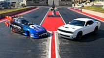 Dodge Charger SRT Hellcat Funny Car and Challenger R/T Scat Pack 1320