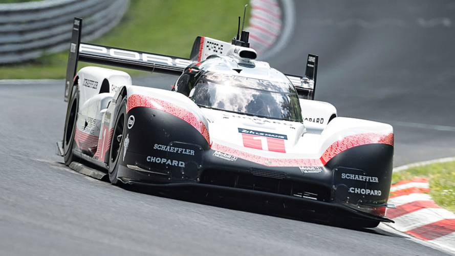 porsche 919 evo smashes nurburgring lap record in 5 19. Black Bedroom Furniture Sets. Home Design Ideas