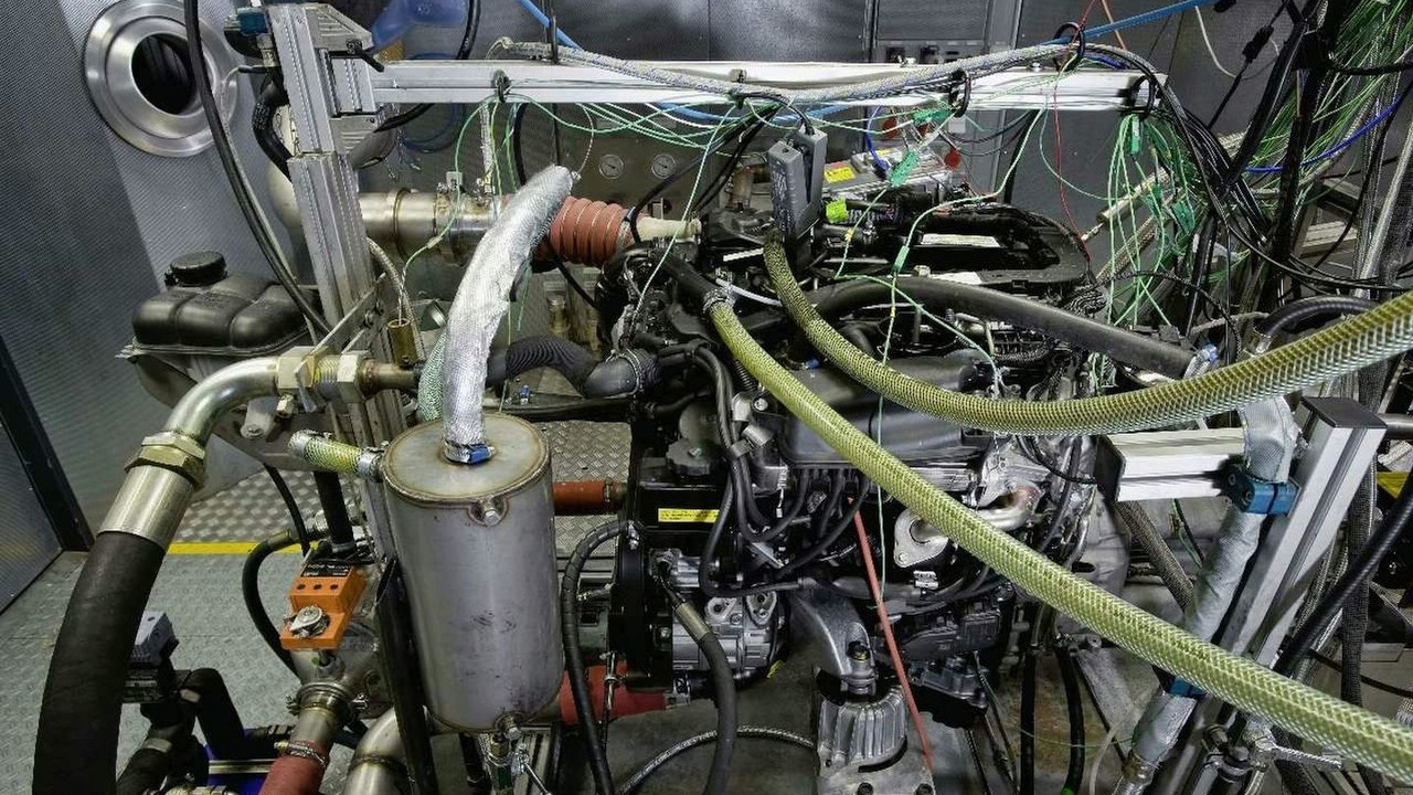 New Mercedes 250 CDI engine