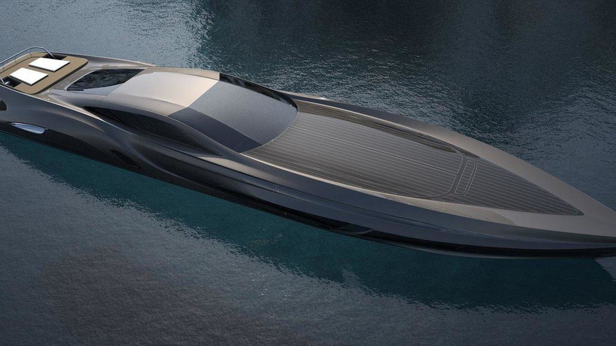 SC166 super-yacht by Gray Design includes custom-made supercar