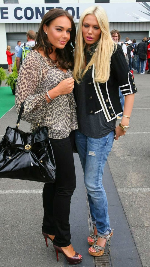 A busy day for Ecclestone daughters