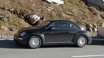 2012 VW New Beetle spied testing in Europe