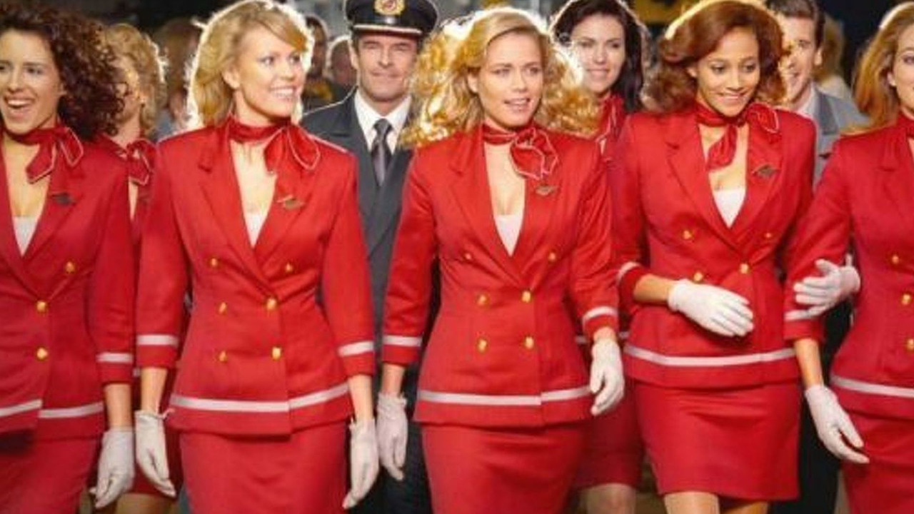 Virgin Airlines stewardess ad campaign - 640