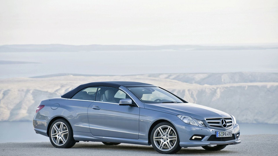 2010 Mercedes E-Class Convertible Revealed in First Official Video, Photos