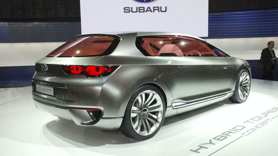 Subaru hybrid production model arriving at New York Auto Show - report