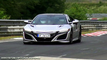 Acura NSX Nurburgring Spy Video
