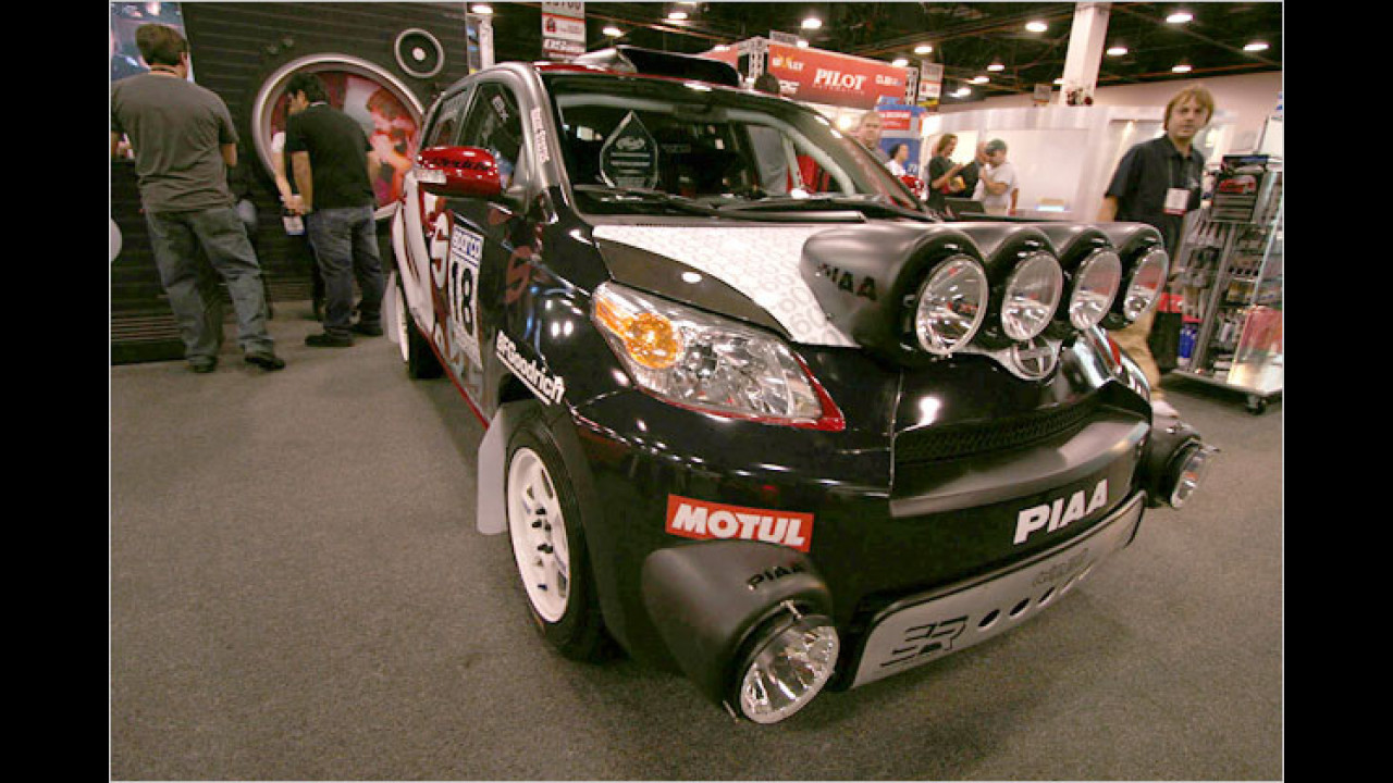 Scion xD Sparco Rally