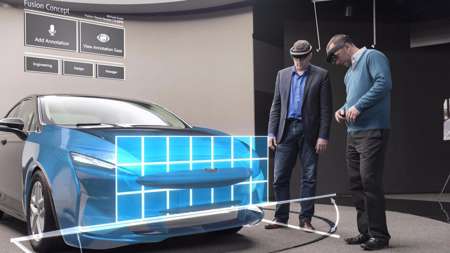 Ford Uses Microsoft Holographic VR Tech To Design Cars Quicker