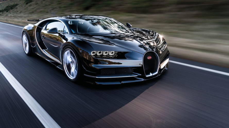 Watch A Bugatti Chiron Do 0-249 MPH In 32.6 Seconds