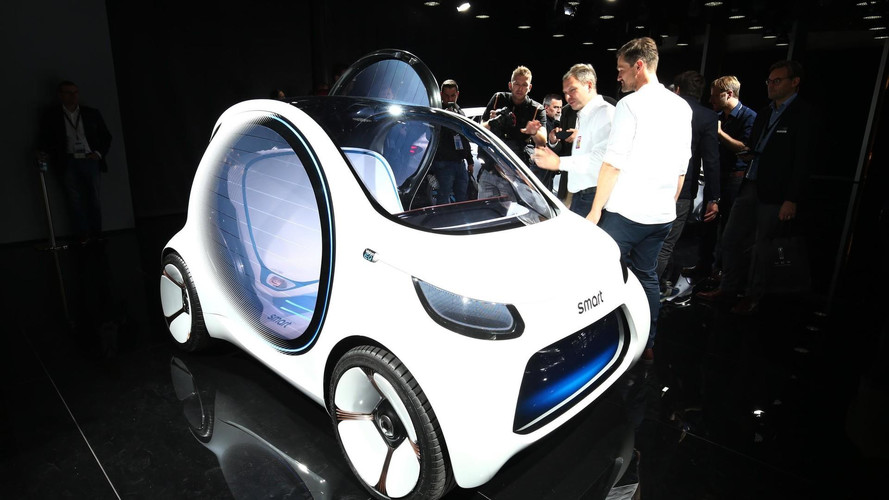 Le concept Smart Vision EQ Fortwo en images au Salon de Francfort
