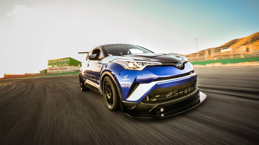 Toyota C-HR claims to be the world's fastest crossover