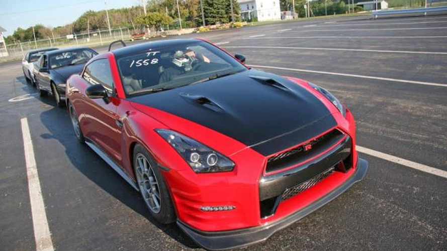 Switzer's R1KX GT-R Red Katana does the quarter-mile in 8.97 seconds