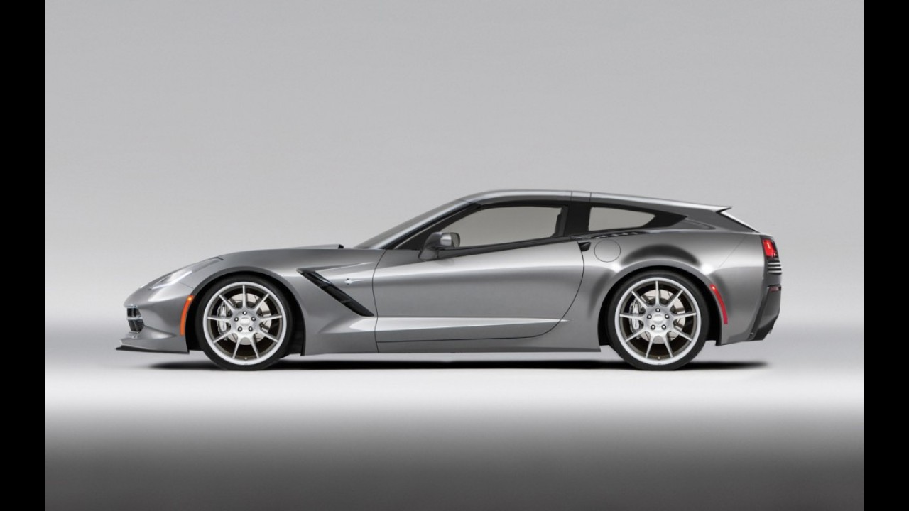 Insano: preparadora sugere perua do novo Corvette Stingray!