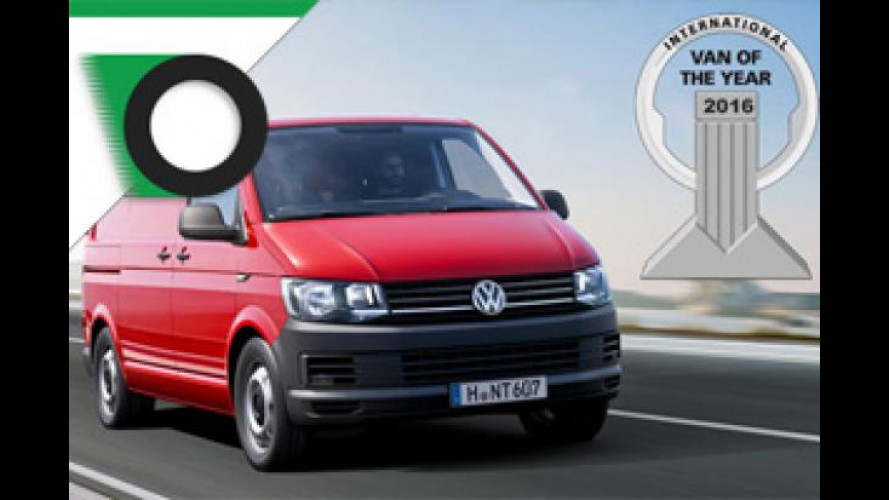 Volkswagen, il Transporter T6 eletto Van of the Year 2016