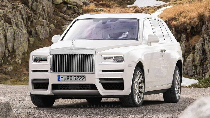 "Rolls-Royce Admits Cullinan Name ""Just A Working Project Title"