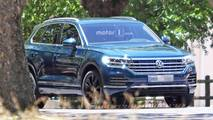 2018 VW Touareg undisguised spy photos