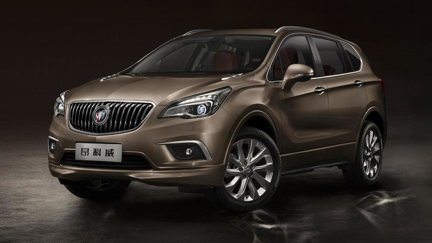 2015 Buick Envision unveiled at the Chengdu Motor Show