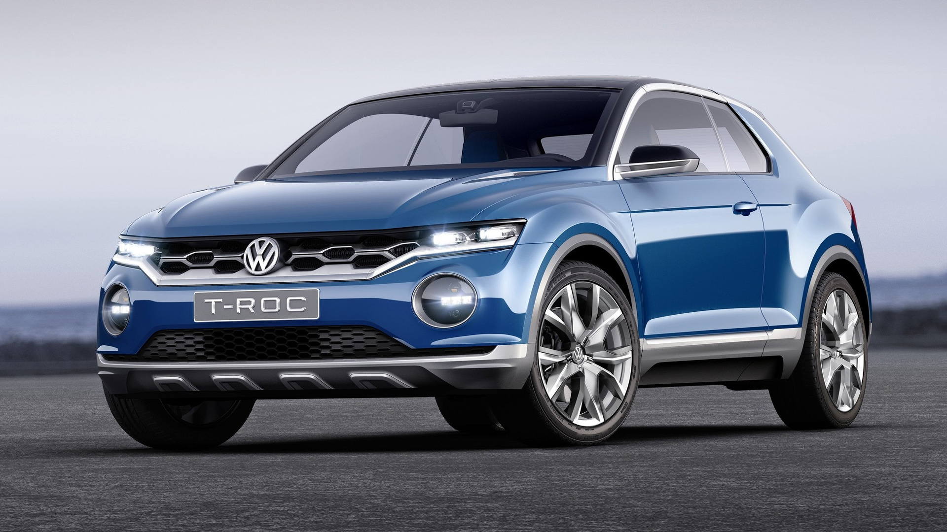 Vw T Roc Compact Crossover Set For 2019 Launch In North