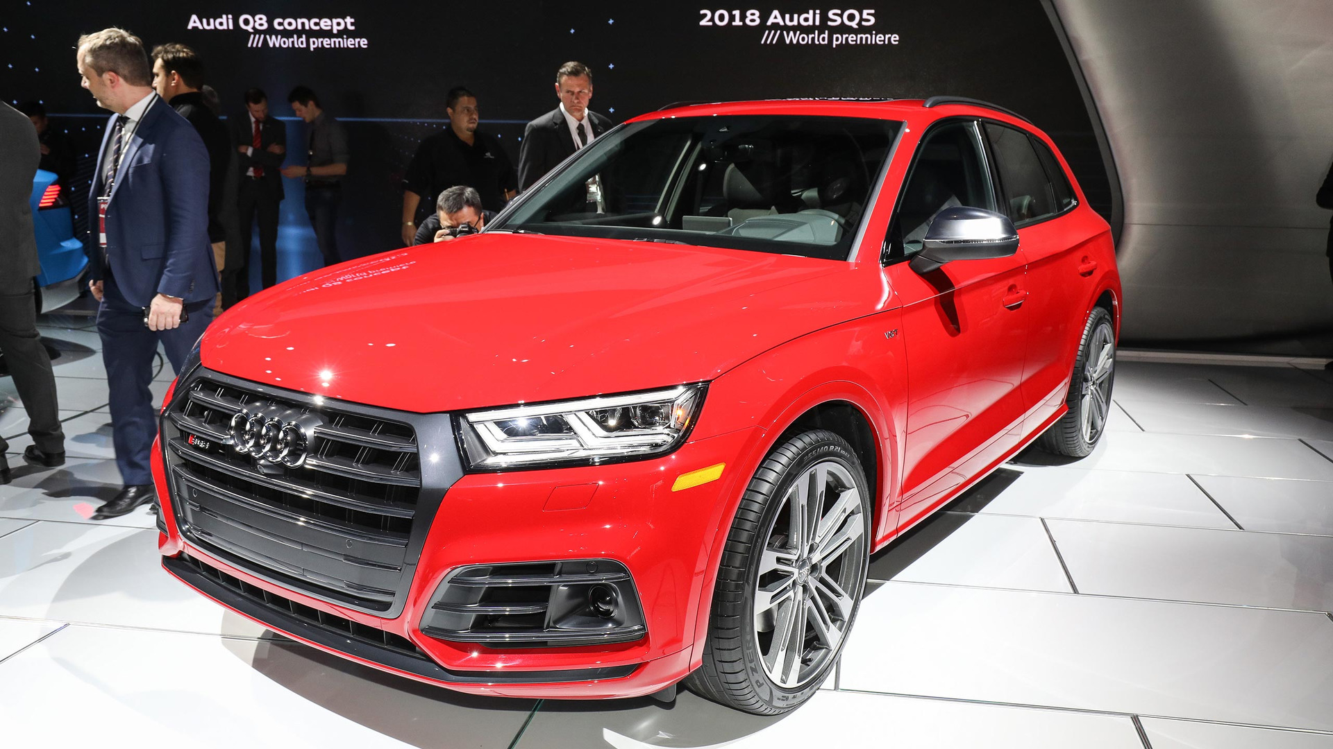 2018 audi sq5 swaps supercharger for a turbo in detroit. Black Bedroom Furniture Sets. Home Design Ideas