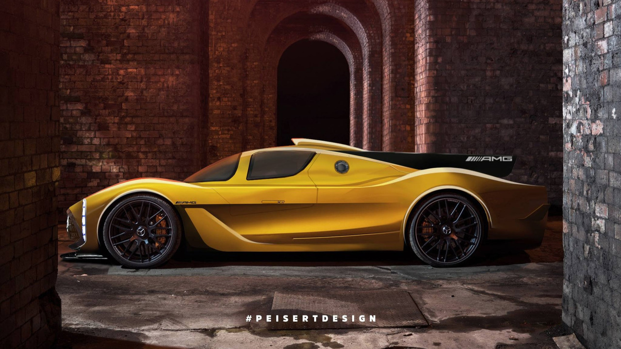 Mercedes-AMG Project One by Jan Peisert Design