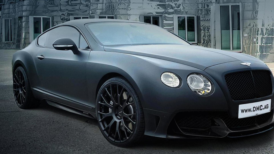 DMC unveils Bentley Continental GT DURO China Edition with 672 HP
