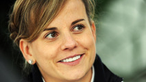 Susie Wolff admits Williams test 'not official' yet