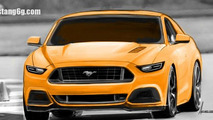 2015 Ford Mustang render 30.08.2013