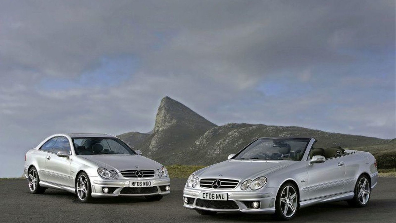 Mercedes CLK 63 AMG Coupe and Cabriolet