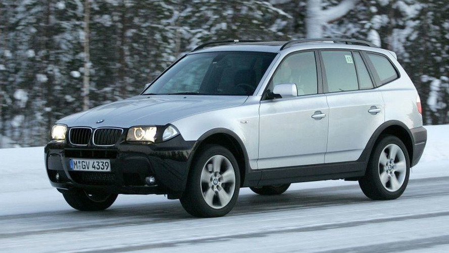 More BMW X3 Facelift Spy Photos