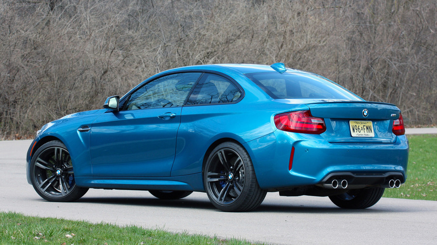 2018 bmw m2 facelift shows up unexpectedly. Black Bedroom Furniture Sets. Home Design Ideas