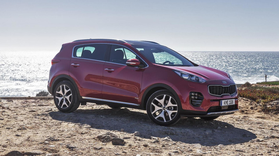 All-new Kia Sportage arrives at Frankfurt Motor Show with appealing GT Line trim