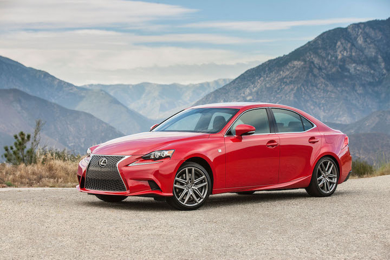 Lexus IS Gets a Turbo Boost and 241HP for 2016