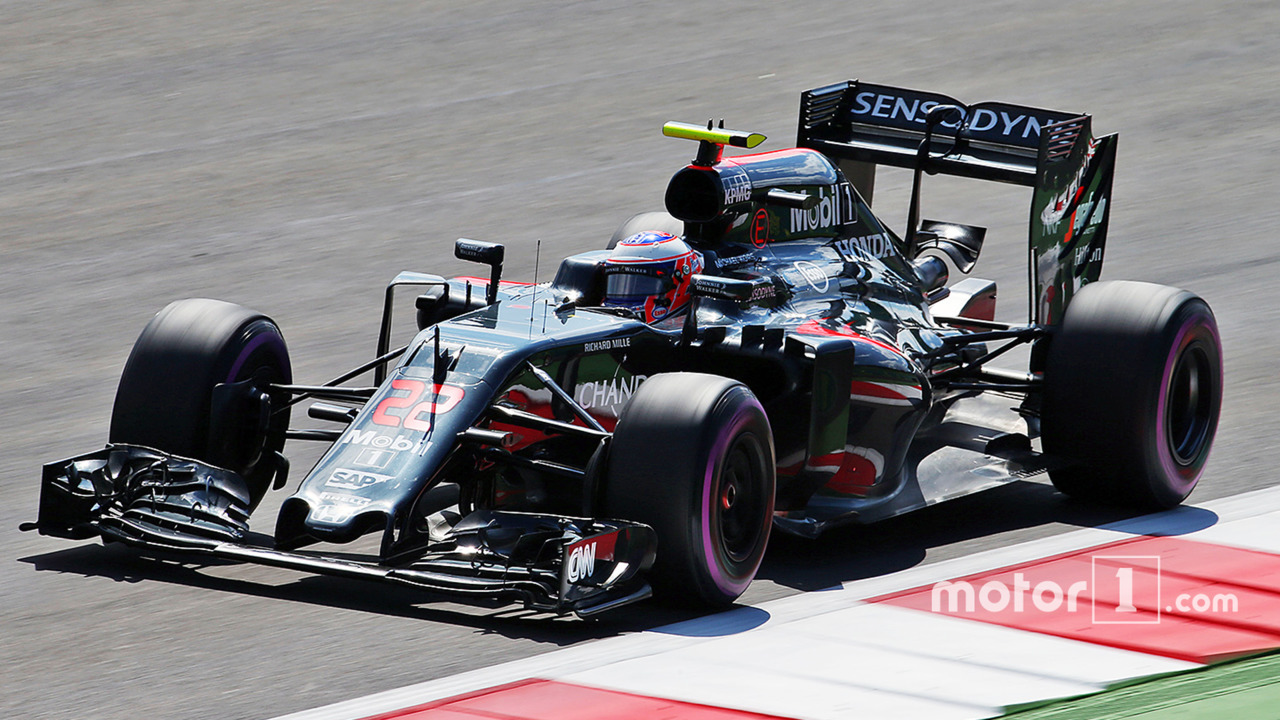 Jenson Button, McLaren MP4-31, Austrian GP 2016