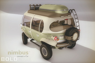 The Nimbus Concept is a Futuristic, 4x4 Take on the VW Bus
