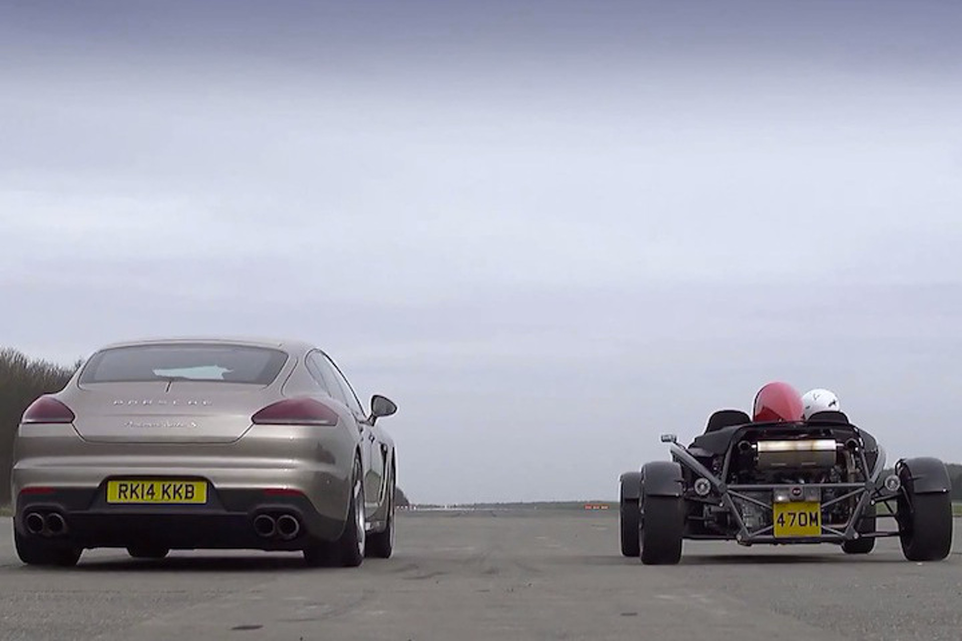 Ariel Atom vs. Porsche Panamera S is an Uncommon Yet Amazing Comparo [video]