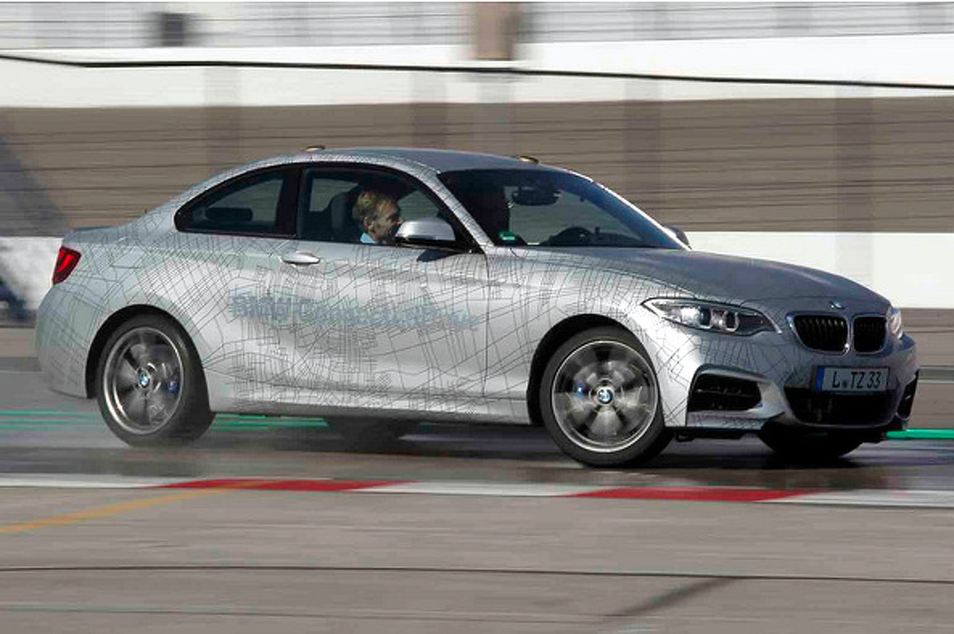 BMW Debuts World's First Self-Drifting Car [video]