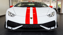 Lamborghini Huracan with factory aero pack
