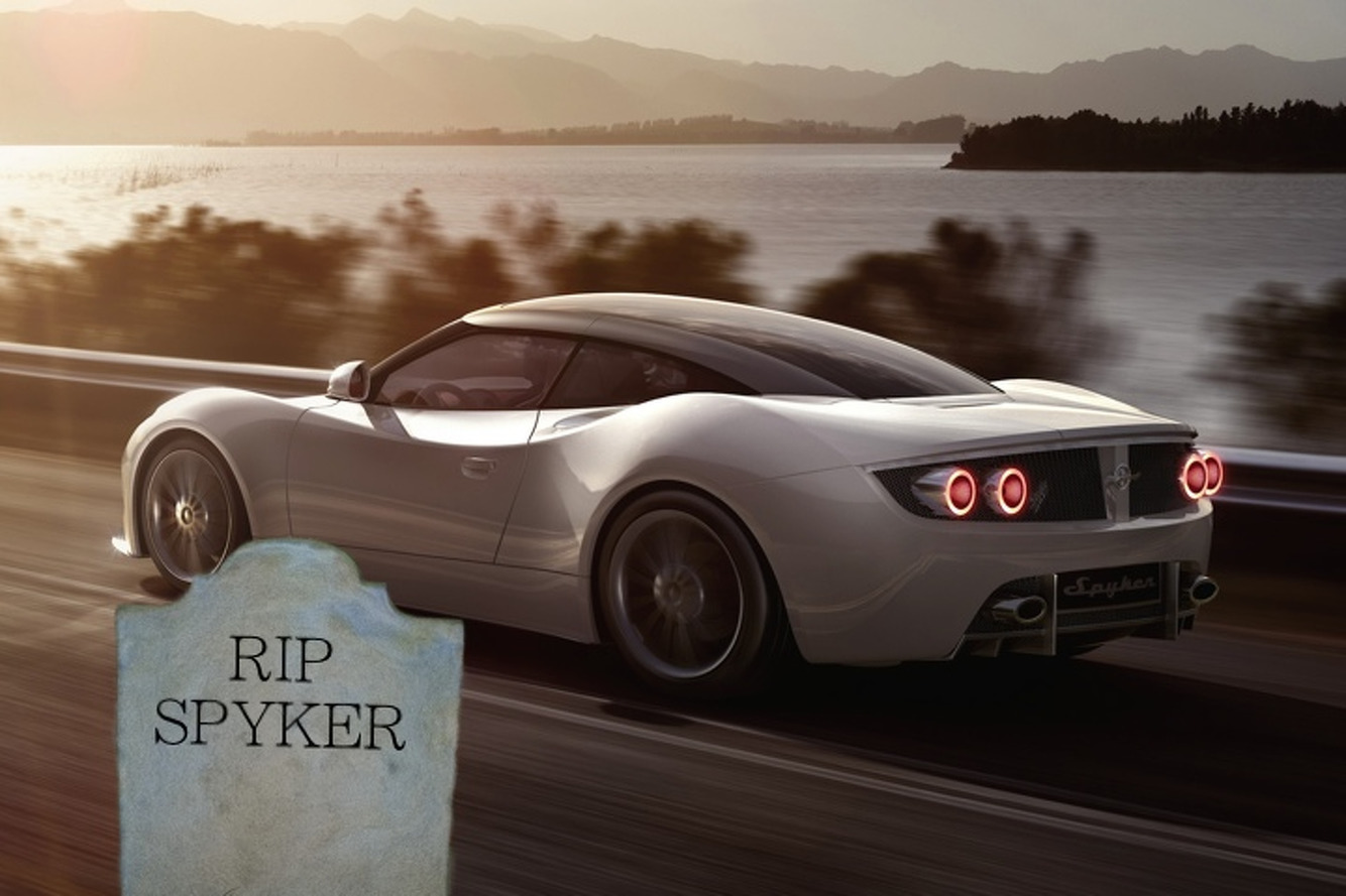 Spyker Is Dying a Slow Death