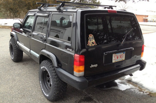 Your Ride: 2001 Jeep Cherokee Sport
