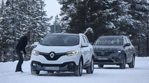 Renault Maxthon spy photo